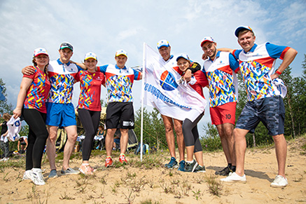 OJSC Severneftegazprom took part in the Open Athletics Cross «X-Trail Cross 2019»
