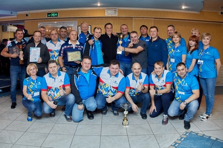 Bowling tournament dedicated to the 20th anniversary of OJSC Severneftegazprom